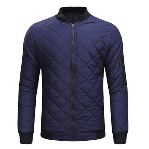 Bomber Jacket Heavy Cotton Coat 3 Colors