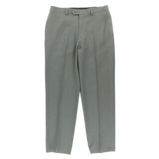 Haggar Mens Flat Front Classic Fit Dress Pants - 40/30