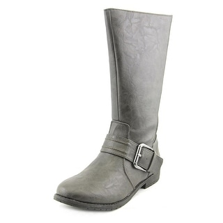 Kenneth Cole Reaction Kids Tough Flake Youth Synthetic Gray Knee High Boot