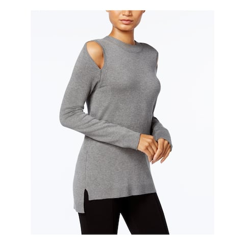 KENSIE Womens Gray Long Sleeve Top Size XS