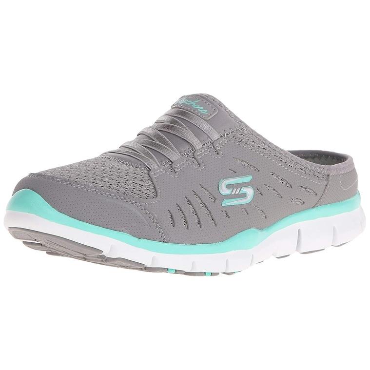 Mule Sneaker, Grey Mint, 7.5 M