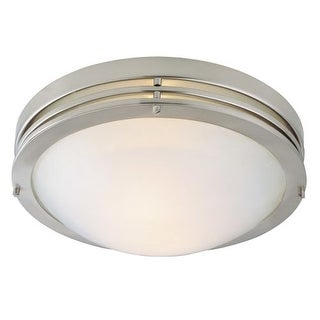 Design House 503284 2 Light Flushmount Ceiling Fixture from the Ceiling Mounts Collection