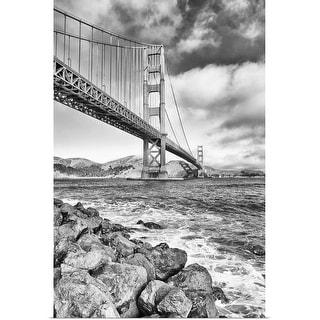 """Golden Gate Bridge, California, USA,"" Poster Print"
