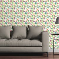 Circle Art Group Removable Wallpaper Tile - Do The Polka