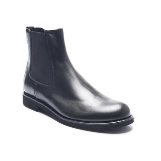 Tod's Men's Leather Chelsea Boots Shoes Black