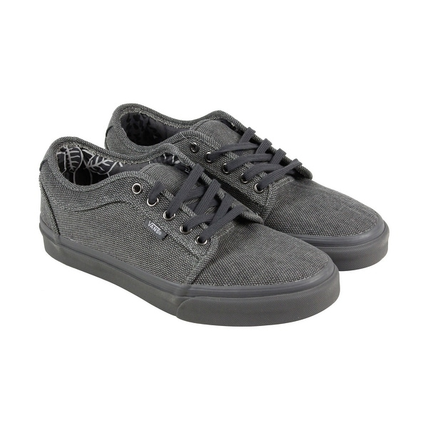c6c5bd8ce9517b Shop Vans Chukka Low Mens Gray Canvas Lace Up Lace Up Sneakers Shoes ...