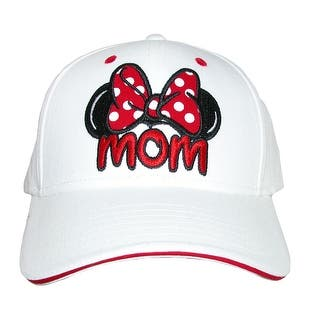 Disney Women's Minnie Mouse Mom Fan Baseball Hat|https://ak1.ostkcdn.com/images/products/is/images/direct/676bf8b49ae08e5729b068997f5a65db33a09cd4/Disney-Women%27s-Minnie-Mouse-Mom-Fan-Baseball-Hat.jpg?impolicy=medium