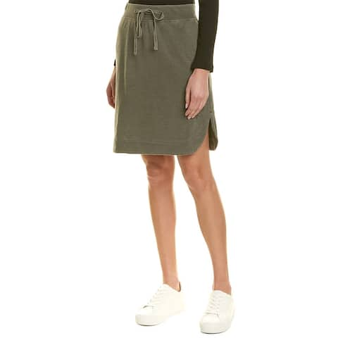 James Perse Pull-On Fleece Skirt - SHPG