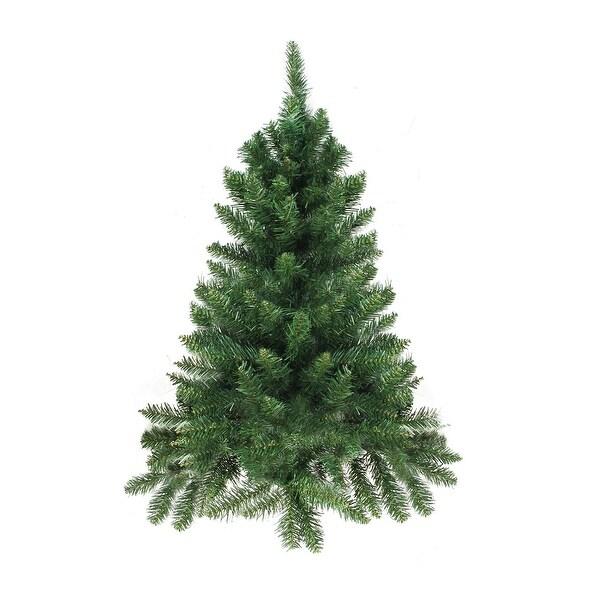 2' Buffalo Fir Medium Artificial Christmas Wall or Door Tree - Unlit - green