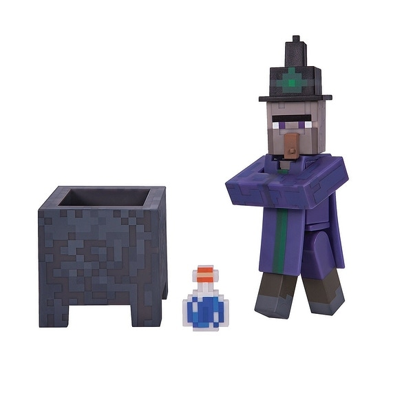 "Minecraft 3"" Action Figure: Witch - multi"