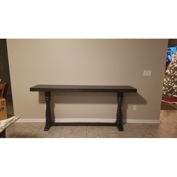 Shop Lane Charcoal Sofa Bar Table Free Shipping Today Overstock