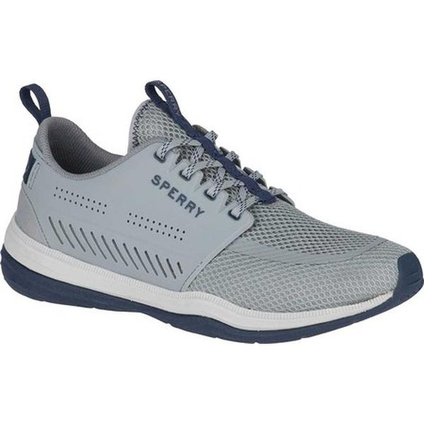 28c8b50e5648 Shop Sperry Top-Sider Men s H2O Skiff Sneaker Grey Navy Mesh - Ships ...
