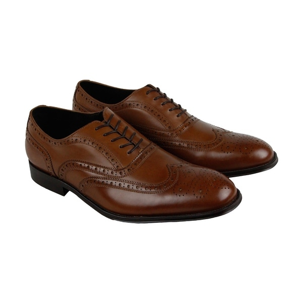 Kenneth Cole New York Design 10521 Mens Brown Casual Dress Oxfords Shoes