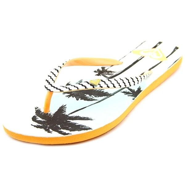df819b7ba Shop Roxy Mimosa V Open Toe Synthetic Flip Flop Sandal - Free ...