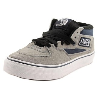 Vans Half Cab Youth Round Toe Suede Gray Sneakers