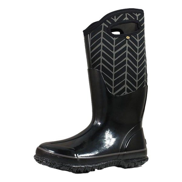Bogs Outdoor Boots Womens Classic Badge Pull On Waterproof - 6 M