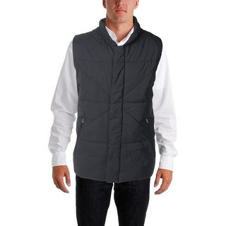 Nautica Mens Quilted Water Resistant Outerwear Vest