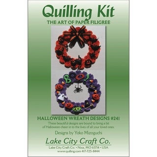 Quilling Kit-Halloween Wreaths