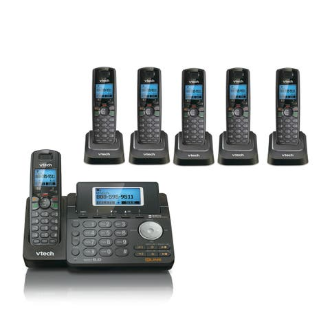 VTech DS6151-11 Phone w/ DS6101-11-5 Additional Cordless Handsets