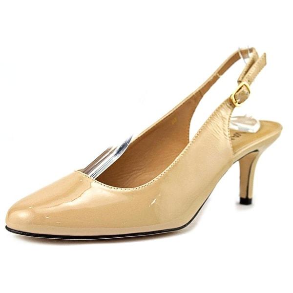 Vaneli Luella  W Pointed Toe Patent Leather  Slingback Heel