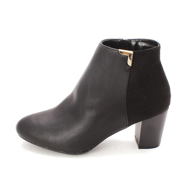 Karen Scott Womens Ghariet Almond Toe Ankle Fashion Boots - 7