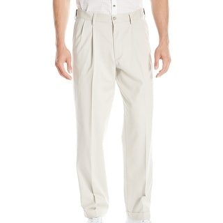 Link to Dockers Mens Khaki Pants Beige Size 38 Relaxed Fit Comfort Pleated Front Similar Items in Big & Tall