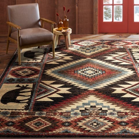 Home Dynamix Buffalo Southwest Rustic Area Rug