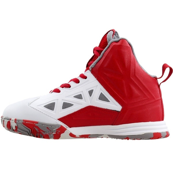 AND1 Boys Chaos 6 Big Kid Basketball Casual Shoes White