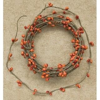 Pip Berry String Garland - Pumpkin - 18ft