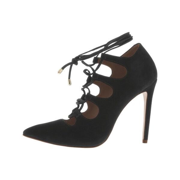 211a5d06246 Shop Steve Madden Womens Keenton Dress Heels Nubuck Pointed Toe ...