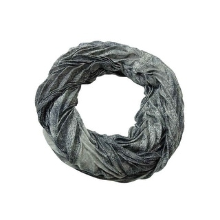 Collection Eighteen Women's Paisley Pleated Infinity Scarf