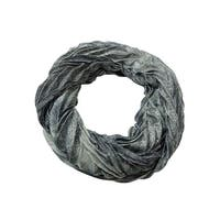 Collection Eighteen Women's Paisley Pleated Infinity Scarf - os