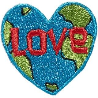 Iron-On Appliques-Love Earth - love earth