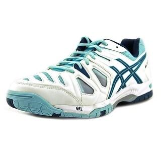 Asics Gel-Game 5 Women  Round Toe Synthetic White Running Shoe