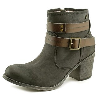 Roxy Mia   Round Toe Synthetic  Ankle Boot