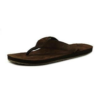 Sanuk Fraid Men  Open Toe Suede Brown Sandals