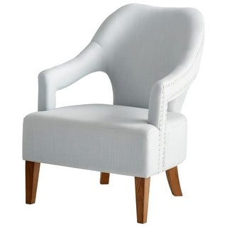 "Cyan Design 8338 Opal Throne 36"" Tall Wood and Foam Accent Chair"