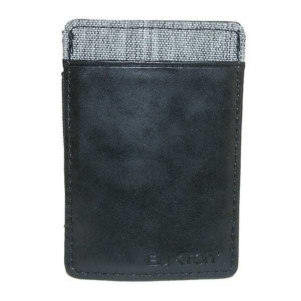 Buxton Men's RFID Protected Flex Pull Tab Stretch Wallet - One size