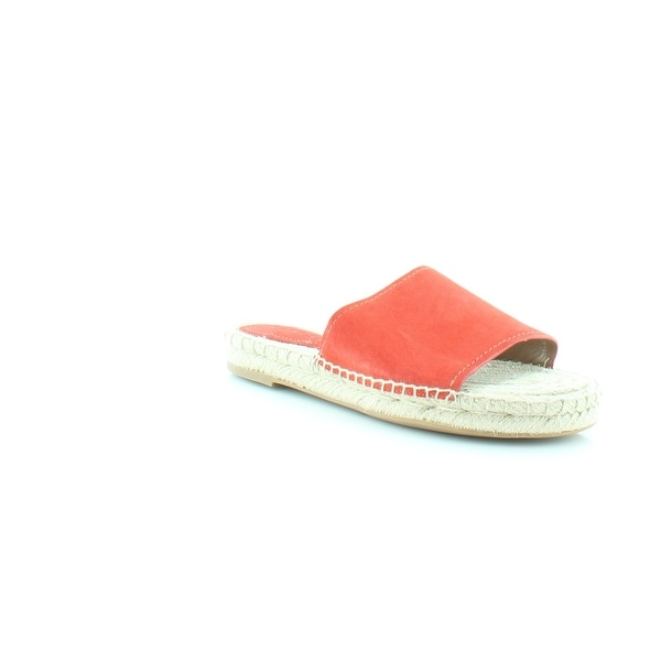 Coach Claudia Women's Sandals & Flip Flops Deep Coral