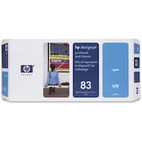 """HP 83 Cyan DesignJet UV Printhead and Printhead Cleaner (C4961A) (Single Pack) HP 83 Cyan Printhead/Cleaner - Cyan - Inkjet -"