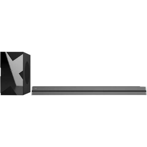 """QFX 38"""" Bluetooth 2.1 Soundbar W/ FM Radio, USB Port & Wired Subwoofer"""