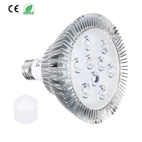 LED Grow Light Bulb 9W E27 7 Red + 2 Blue LEDs AC 85-265V for Indoor Plants