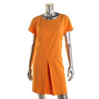 Vince Camuto Womens Casual Dress Pleated Short Sleeves - 0