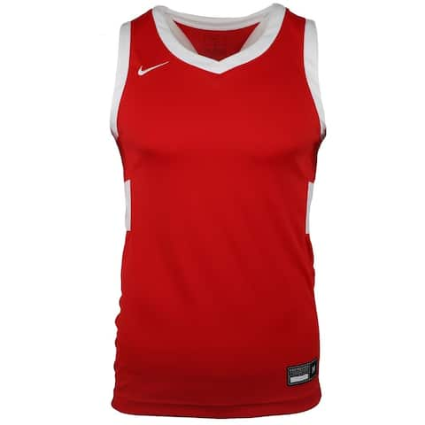 Nike Stock Fadeaway Jersey Mens Basketball Top Jersey Breathable -