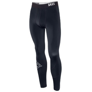 Saxx Mens Force Long John  Athletic Underwear Tights