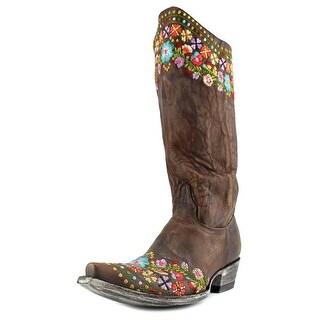 "Old Gringo Amelia 13"" Women Square Toe Leather Multi Color Western Boot"