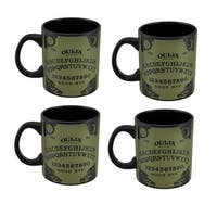 Set of 4 Licensed Extra Large 20 Oz. Ouija Board Coffee Mugs