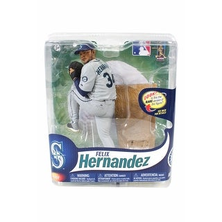 Seattle Mariners McFarlane MLB Series 31 Figure: Felix Hernandez (Gray Uniform Variant)