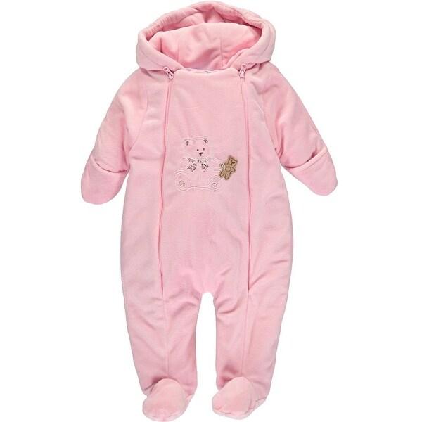 Baby Dove Girls 0-9 Months Bear Plush Pram Bodysuit