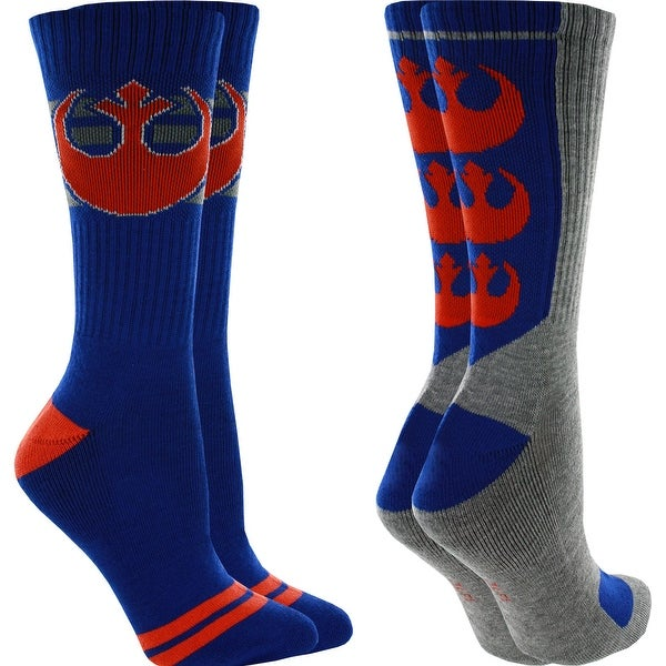 Star Wars Resistance Athletic Crew Socks - 2 Pack, 6-12